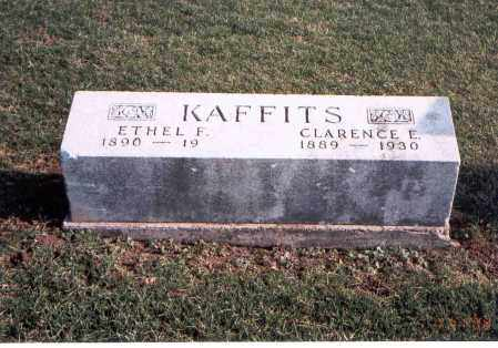KAFFITS, CLARENCE E. - Franklin County, Ohio | CLARENCE E. KAFFITS - Ohio Gravestone Photos