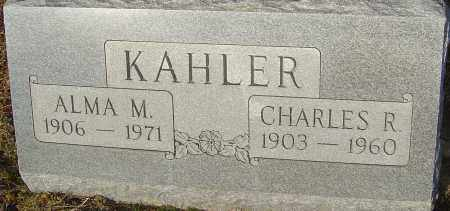 KAHLER, CHARLES R - Franklin County, Ohio | CHARLES R KAHLER - Ohio Gravestone Photos