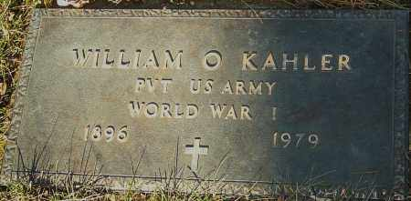 KAHLER, WILLIAM O - Franklin County, Ohio | WILLIAM O KAHLER - Ohio Gravestone Photos