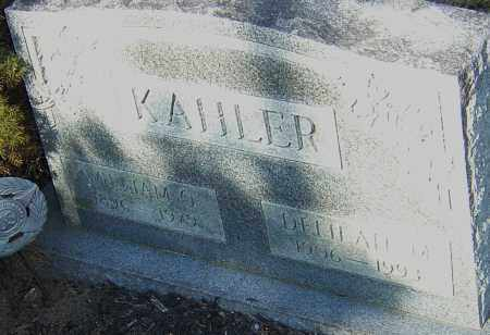 KAHLER, WILLIAM - Franklin County, Ohio | WILLIAM KAHLER - Ohio Gravestone Photos