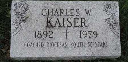 KAISER, CHARLES W - Franklin County, Ohio | CHARLES W KAISER - Ohio Gravestone Photos