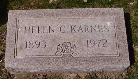 KARNES, HELEN G. - Franklin County, Ohio | HELEN G. KARNES - Ohio Gravestone Photos