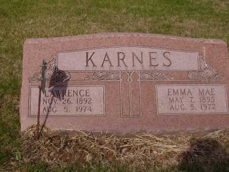 KARNES, EMMA MAE - Franklin County, Ohio | EMMA MAE KARNES - Ohio Gravestone Photos