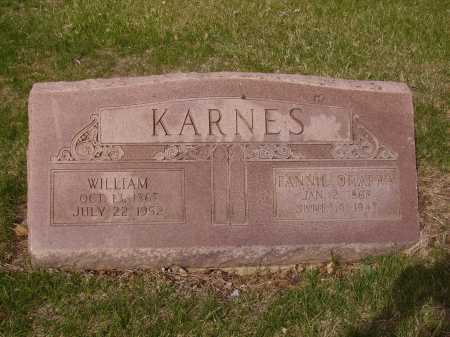 KARNES, FANNIE - Franklin County, Ohio | FANNIE KARNES - Ohio Gravestone Photos