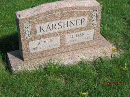 WEESE KARSHNER, LILLIAN E - Franklin County, Ohio | LILLIAN E WEESE KARSHNER - Ohio Gravestone Photos