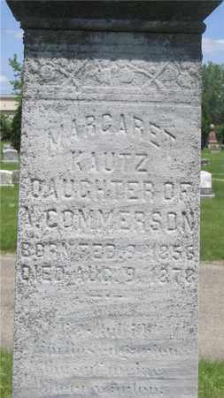 COMMERSON KAUTZ, MARGARET - Franklin County, Ohio | MARGARET COMMERSON KAUTZ - Ohio Gravestone Photos