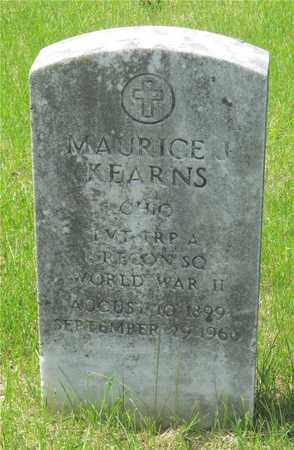 KEARNS, MAURICE J. - Franklin County, Ohio | MAURICE J. KEARNS - Ohio Gravestone Photos