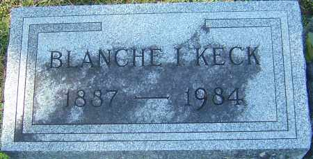 KECK, BLANCHE I - Franklin County, Ohio | BLANCHE I KECK - Ohio Gravestone Photos