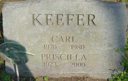 KEEFER, CARL - Franklin County, Ohio | CARL KEEFER - Ohio Gravestone Photos