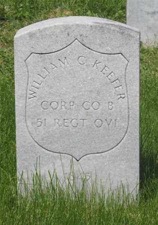 KEEFER, WILLIAM C. - Franklin County, Ohio | WILLIAM C. KEEFER - Ohio Gravestone Photos