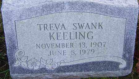 KEELING, TREVA - Franklin County, Ohio | TREVA KEELING - Ohio Gravestone Photos