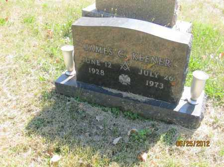 KEENER, JAMES C - Franklin County, Ohio | JAMES C KEENER - Ohio Gravestone Photos