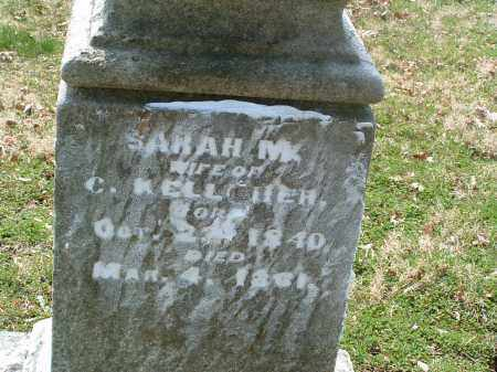 KELLCHER, SARAH M. - Franklin County, Ohio | SARAH M. KELLCHER - Ohio Gravestone Photos