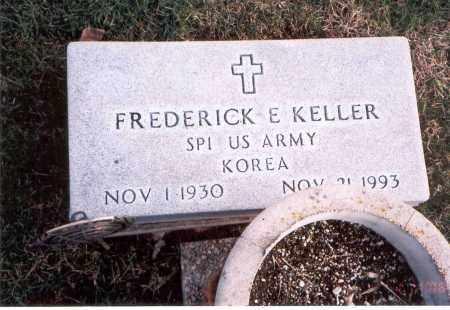 KELLER, FREDERICK E. - Franklin County, Ohio | FREDERICK E. KELLER - Ohio Gravestone Photos