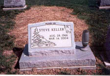 KELLER, STEVE - Franklin County, Ohio | STEVE KELLER - Ohio Gravestone Photos