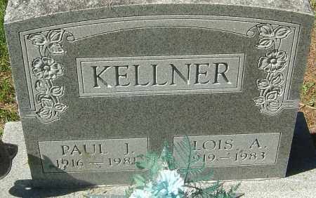 BROOKS KELLNER, LOIS A - Franklin County, Ohio | LOIS A BROOKS KELLNER - Ohio Gravestone Photos