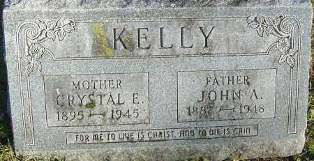 KELLY, JOHN A - Franklin County, Ohio   JOHN A KELLY - Ohio Gravestone Photos