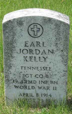 KELLY, EARL JORDAN - Franklin County, Ohio | EARL JORDAN KELLY - Ohio Gravestone Photos