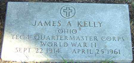 KELLY, JAMES A - Franklin County, Ohio | JAMES A KELLY - Ohio Gravestone Photos
