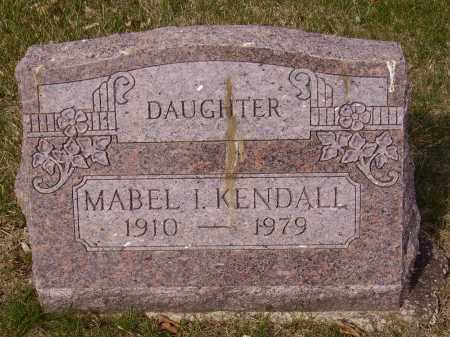 KENDALL, MABEL I. - Franklin County, Ohio | MABEL I. KENDALL - Ohio Gravestone Photos