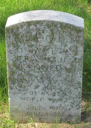 KENNEDY, JAMES FRANKLIN - Franklin County, Ohio | JAMES FRANKLIN KENNEDY - Ohio Gravestone Photos