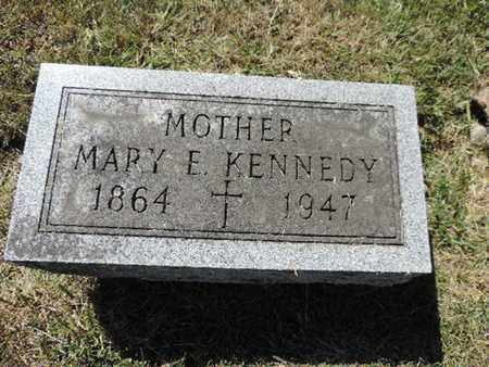 KENNEDY, MARY E. - Franklin County, Ohio | MARY E. KENNEDY - Ohio Gravestone Photos