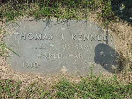 KENNEDY, THOMAS J. - Franklin County, Ohio | THOMAS J. KENNEDY - Ohio Gravestone Photos