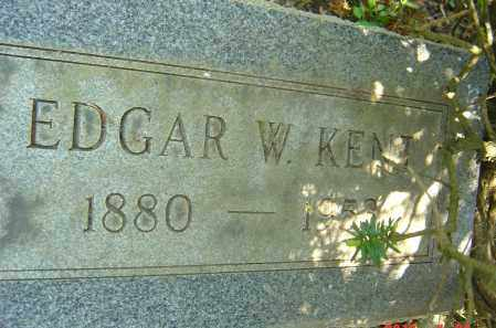 KENT, EDGAR W - Franklin County, Ohio | EDGAR W KENT - Ohio Gravestone Photos