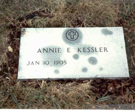 KESSLER, ANNIE E. - Franklin County, Ohio | ANNIE E. KESSLER - Ohio Gravestone Photos