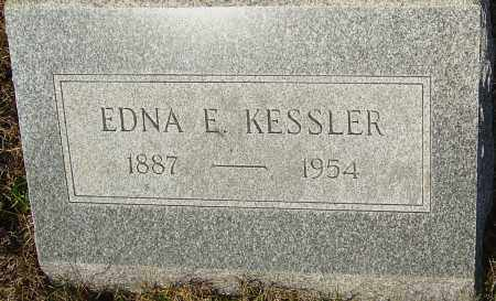 KESSLER, EDNA E - Franklin County, Ohio | EDNA E KESSLER - Ohio Gravestone Photos