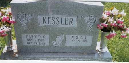 KESSLER, HAROLD C. - Franklin County, Ohio | HAROLD C. KESSLER - Ohio Gravestone Photos