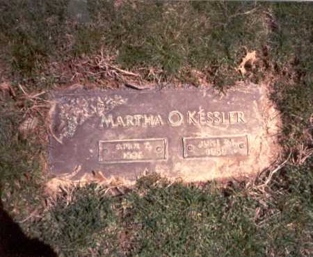 KESSLER, MARTHA - Franklin County, Ohio | MARTHA KESSLER - Ohio Gravestone Photos
