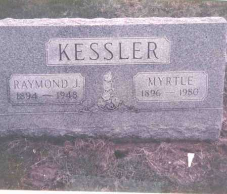 KESSLER, RAYMOND J. - Franklin County, Ohio | RAYMOND J. KESSLER - Ohio Gravestone Photos
