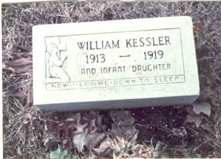 KESSLER, WILLIAM - Franklin County, Ohio | WILLIAM KESSLER - Ohio Gravestone Photos