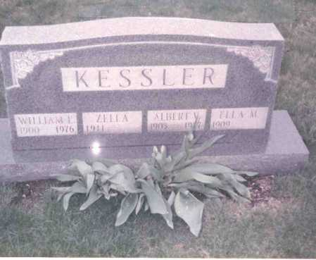 KESSLER, ELLA M. - Franklin County, Ohio | ELLA M. KESSLER - Ohio Gravestone Photos