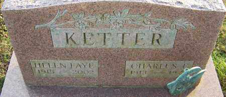 KETTER, HELEN - Franklin County, Ohio | HELEN KETTER - Ohio Gravestone Photos