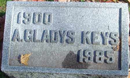 KEYS, A GLADYS - Franklin County, Ohio | A GLADYS KEYS - Ohio Gravestone Photos