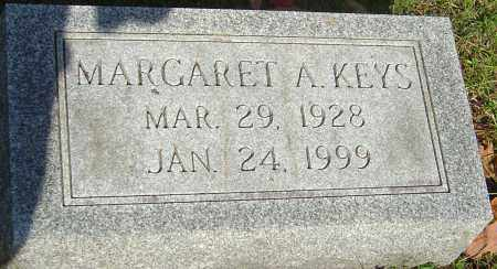 KEYS, MARGARET A - Franklin County, Ohio | MARGARET A KEYS - Ohio Gravestone Photos