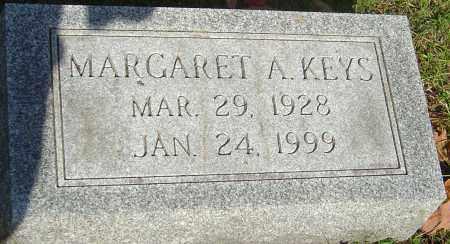 KEYS, MARGARET A - Franklin County, Ohio   MARGARET A KEYS - Ohio Gravestone Photos