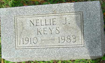 KEYS, NELLIE J - Franklin County, Ohio | NELLIE J KEYS - Ohio Gravestone Photos