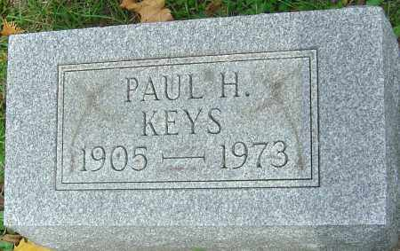 KEYS, PAUL H - Franklin County, Ohio | PAUL H KEYS - Ohio Gravestone Photos