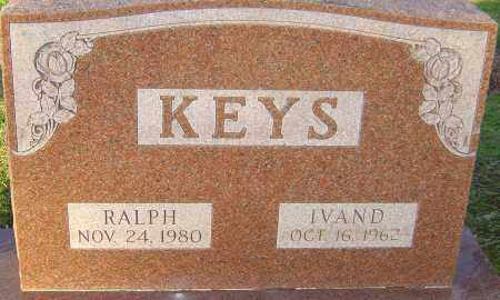 KEYS, RALPH - Franklin County, Ohio | RALPH KEYS - Ohio Gravestone Photos