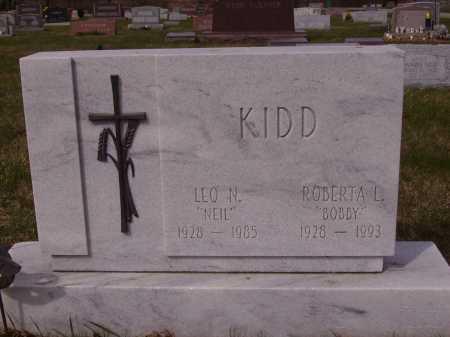 KIDD, ROBERTA L. - Franklin County, Ohio | ROBERTA L. KIDD - Ohio Gravestone Photos