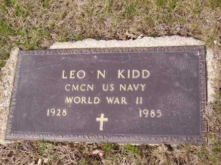 KIDD, LEO N. - MILITARY - Franklin County, Ohio | LEO N. - MILITARY KIDD - Ohio Gravestone Photos