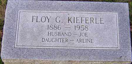 KIEFERLE, FLOY - Franklin County, Ohio | FLOY KIEFERLE - Ohio Gravestone Photos