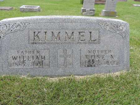 KIMMEL, WILLIAM - Franklin County, Ohio | WILLIAM KIMMEL - Ohio Gravestone Photos
