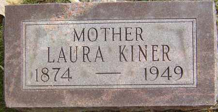 KINER, LAURA - Franklin County, Ohio | LAURA KINER - Ohio Gravestone Photos