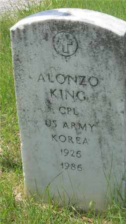 KING, ALONZO - Franklin County, Ohio | ALONZO KING - Ohio Gravestone Photos