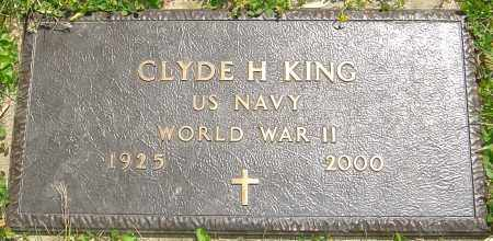 KING, CLYDE H - Franklin County, Ohio | CLYDE H KING - Ohio Gravestone Photos