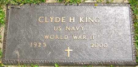 KING, CLYDE H - Franklin County, Ohio | CLYDE H KING - Ohio Gravestone Photos